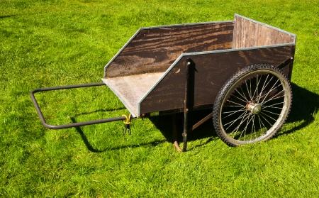 handcart: Handcart in a garden