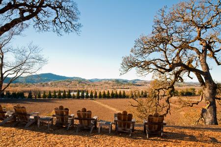 county: Landscape in Sonoma County, CA Stock Photo
