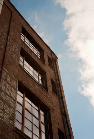 Old brick building in downtown Seattle