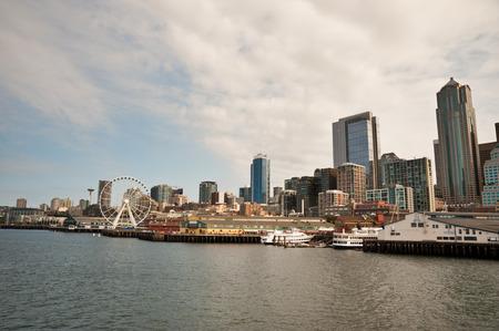 View of downtown Seattle, WA Stock Photo