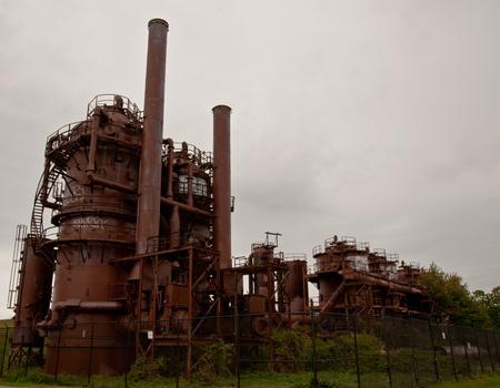 Gasworks Park in Seattle, WA Standard-Bild