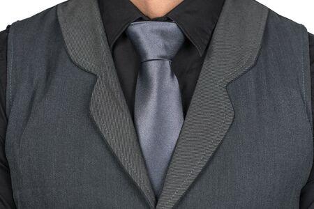 Man With Tie Standard-Bild