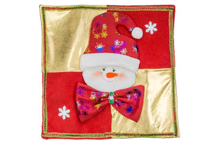 Decoration for merry christmas with white background