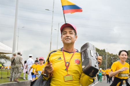 Bogota Colombia. (May 06, 2018). John Frady Gomez Zuluaga, Foto de archivo - 121982066