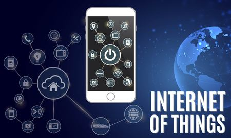 Illustration of internet of things (IOT).