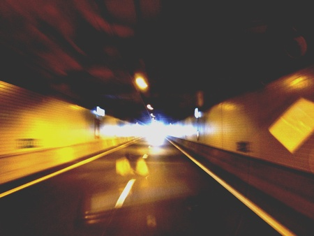 Drive Thru tunnel