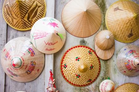 vietnam chapeau fond Banque d'images