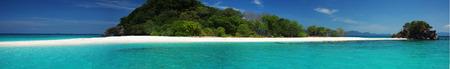 Panorama de la belle Koh Khai Island, plage Thaïlande et de la mer