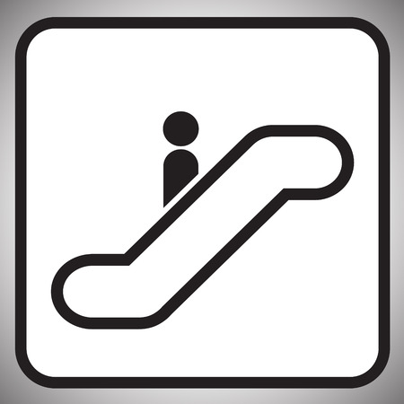 escalator Information signal