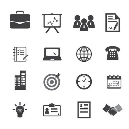 Office and Business Icons Vector