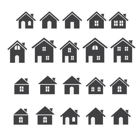 Haus-Symbol Standard-Bild - 32870789