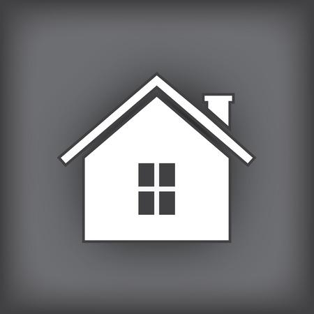 english village: house icon