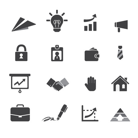 business and money icon Vector