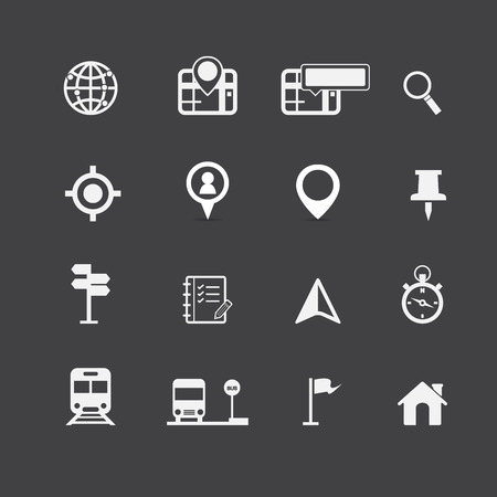 world location: Map Icons and Location Icons