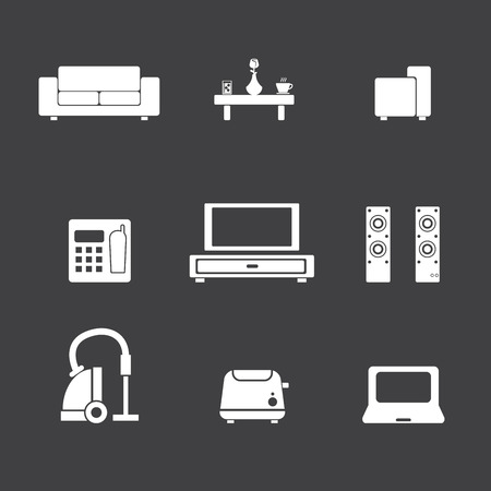 living room icon Vector