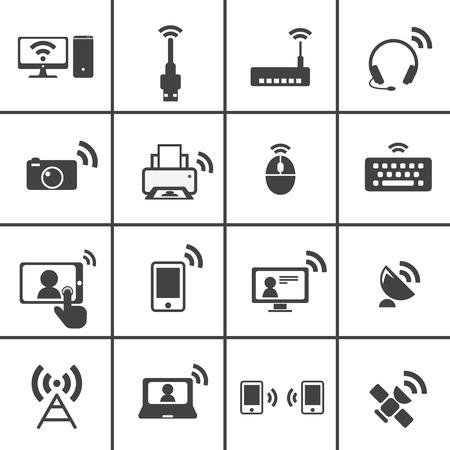 icono comunicacion: Icono Inal�mbrico y Comunicaci�n