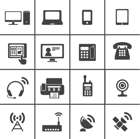 router: Communication device icons
