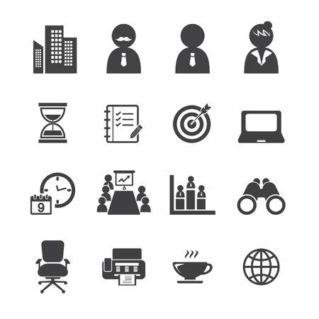allocate: office icon set