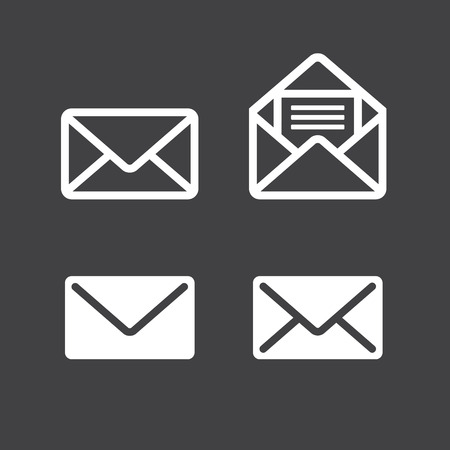 icons: mail icon