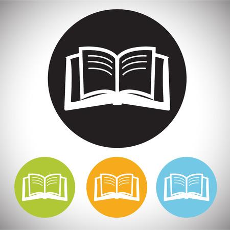 videobook: book icon Illustration