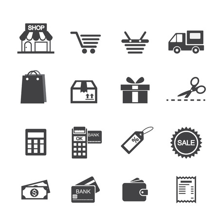 shopping: shopping icon