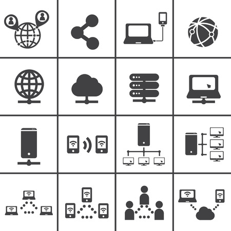 network switch: network icon