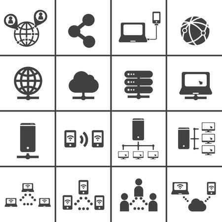 pc icon: network icon