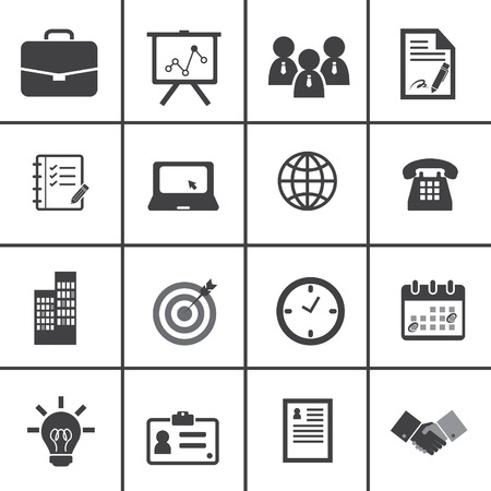 office icons: Office and Business Icons