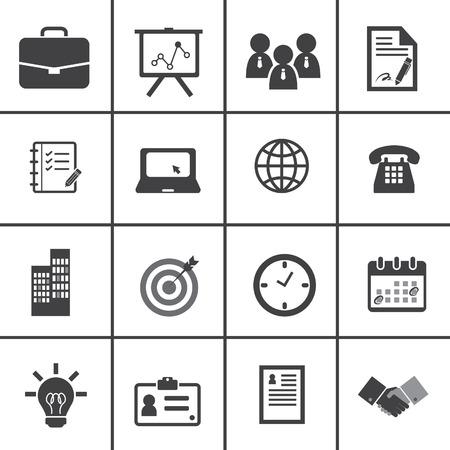 Oficina y Business Icons Foto de archivo - 32821285