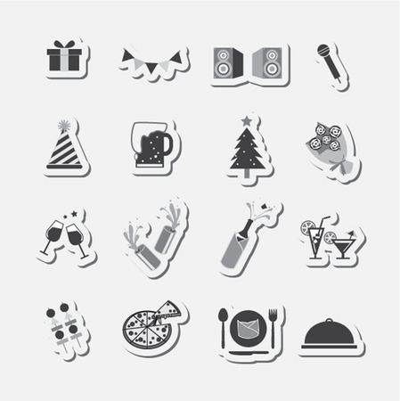 clink: party icon set