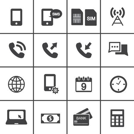 simplus: Cuenta m�vil Iconos de la administraci�n