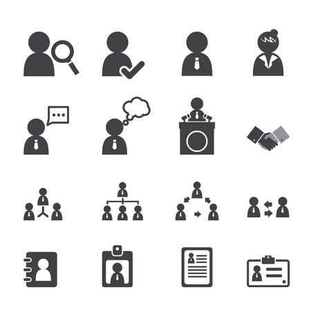 user name: business persons and users icon