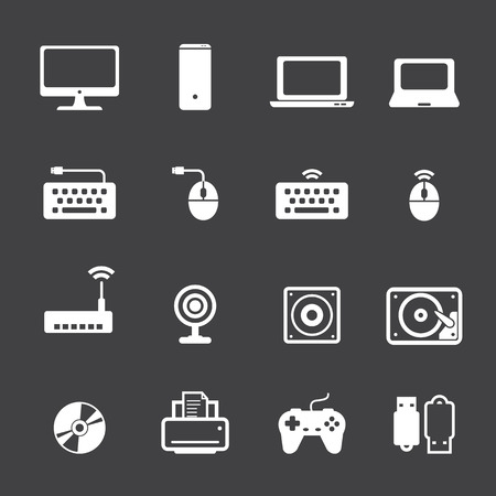computer mouse: computer icon set
