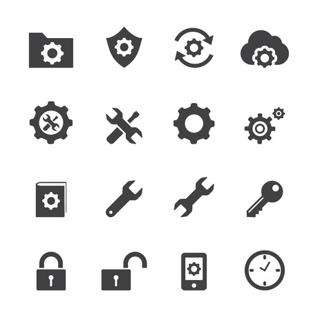 setting icon Vectores