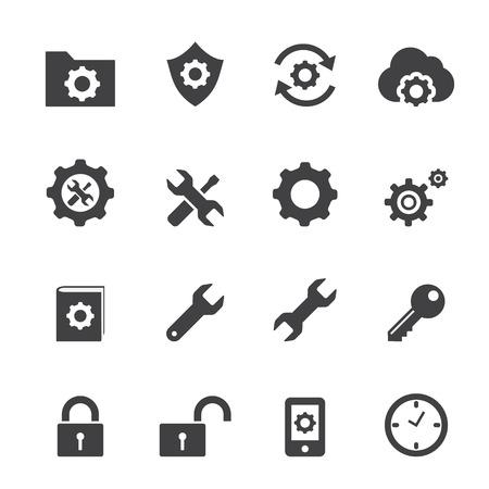 setting icon Illustration