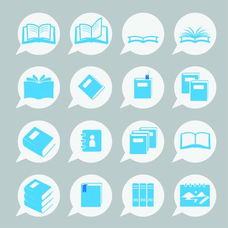 books icon set