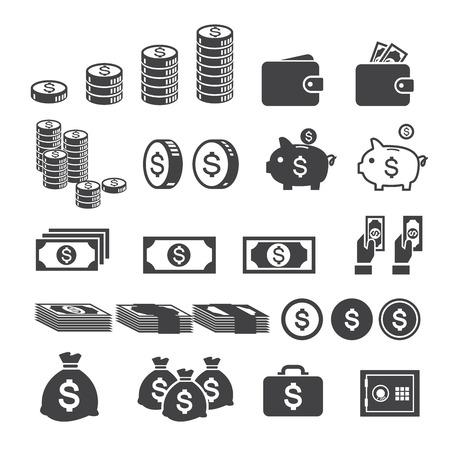 Icône de l'argent Banque d'images - 32363365