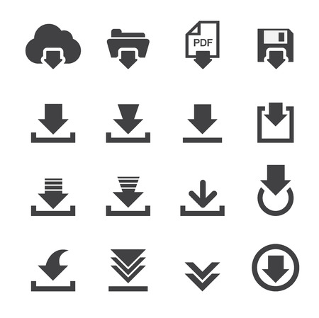 pdf: download icon Illustration