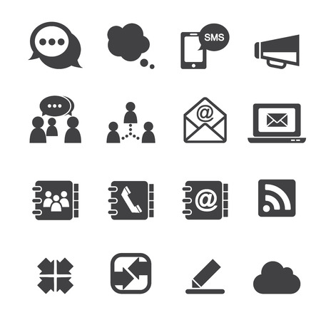 icono comunicacion: icono de la comunicaci�n