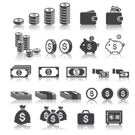 calculator money: money icon