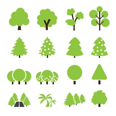 shape silhouette: tree icon