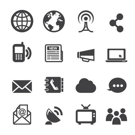 directorio telefonico: icono de la comunicaci�n