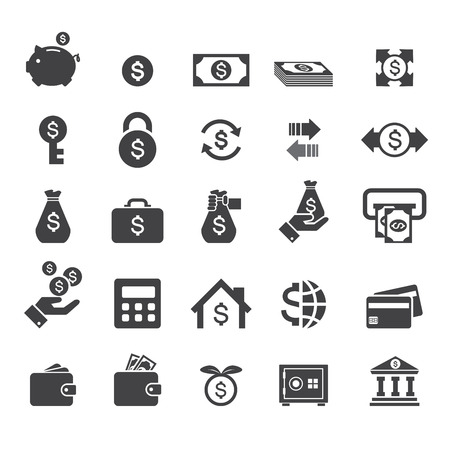 hands on pockets: money icon