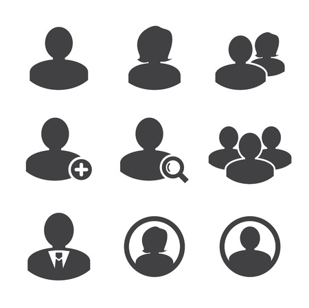 Business persons and user icon