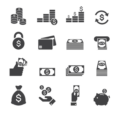 pieniądze: Ikona pieniądze