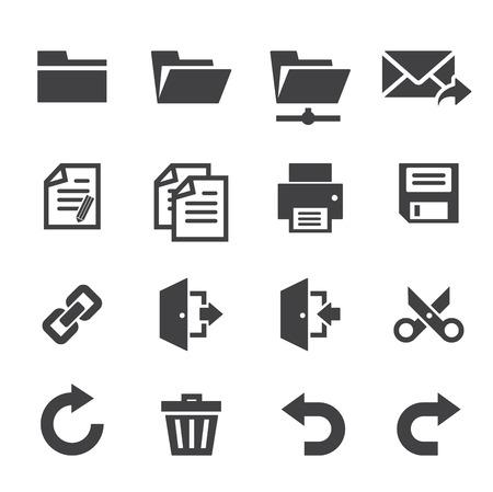 toolbar: Applicazione icone della barra degli strumenti