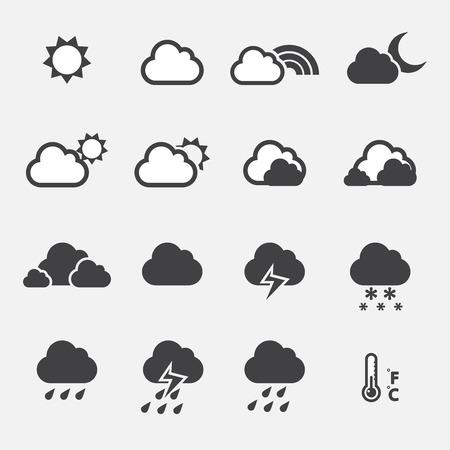 weather icon: Weather Icon Illustration