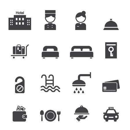 domed tray: hotel icon