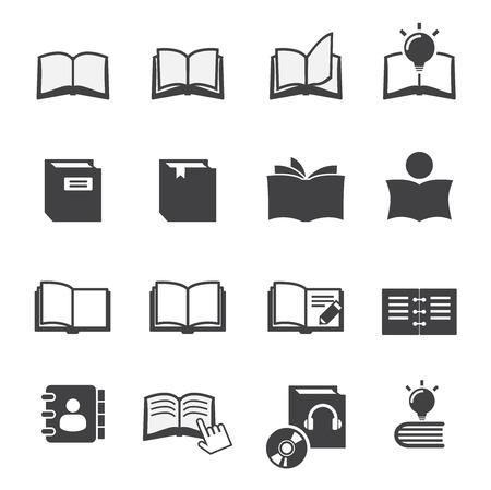 e reader: book icon Illustration