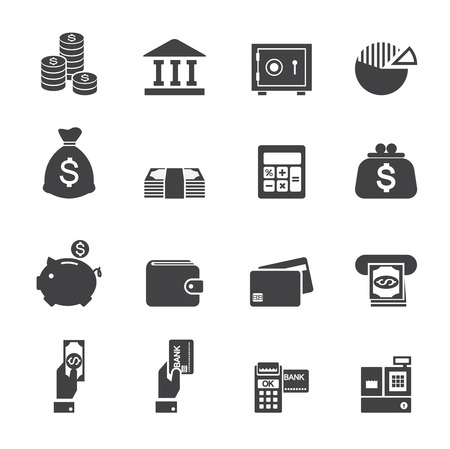 paid: money and finance icon